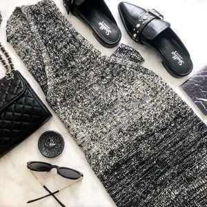 Lucky Brand Ombré Cutout Side Sweater Tunic
